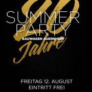 20 Jahre BWA - Summer Party 2016