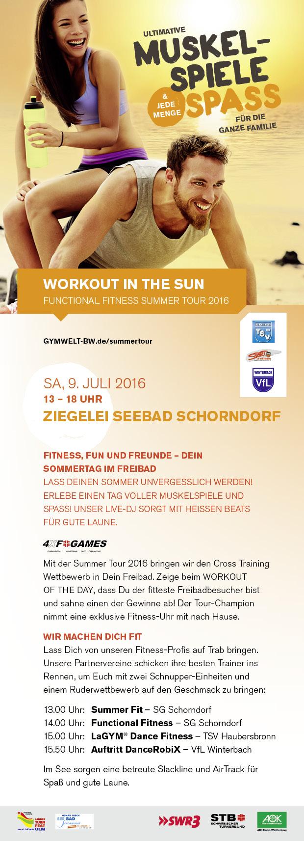 STB Summer Tour 2016 in Schorndorf