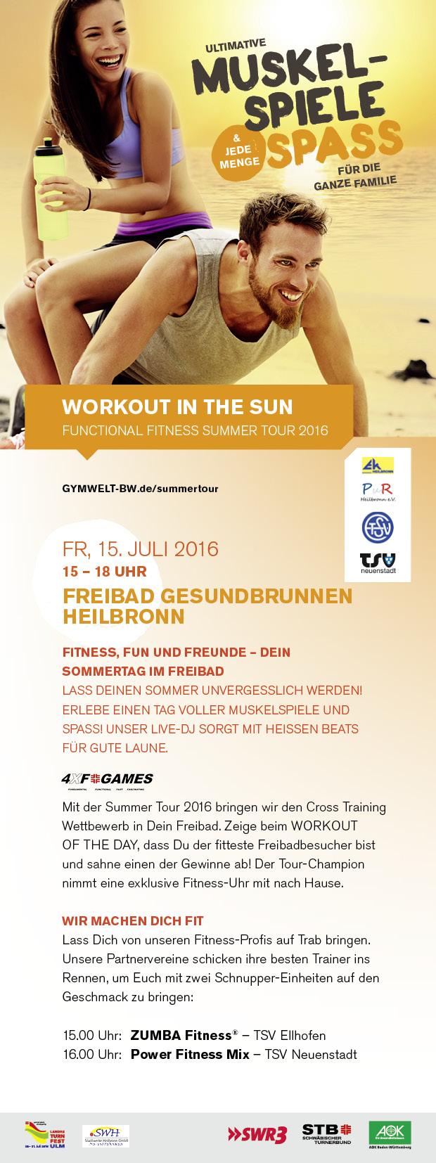 STB Summer Tour 2016 in Heilbronn