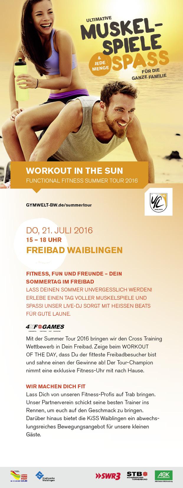 STB Summer Tour 2016 in Waiblingen