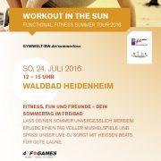 STB Summer Tour 2016 in Heidenheim