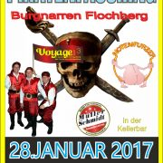 Piratenfasching 2017