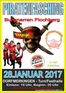 Piratenfasching 2017
