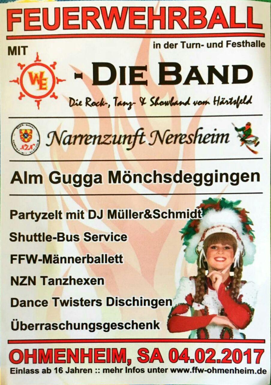 FFW Ball Ohmenheim 2017