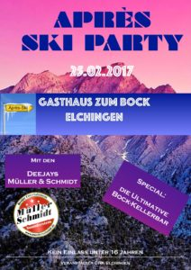 Apres Ski Party Elchingen DRK Fasching 2017