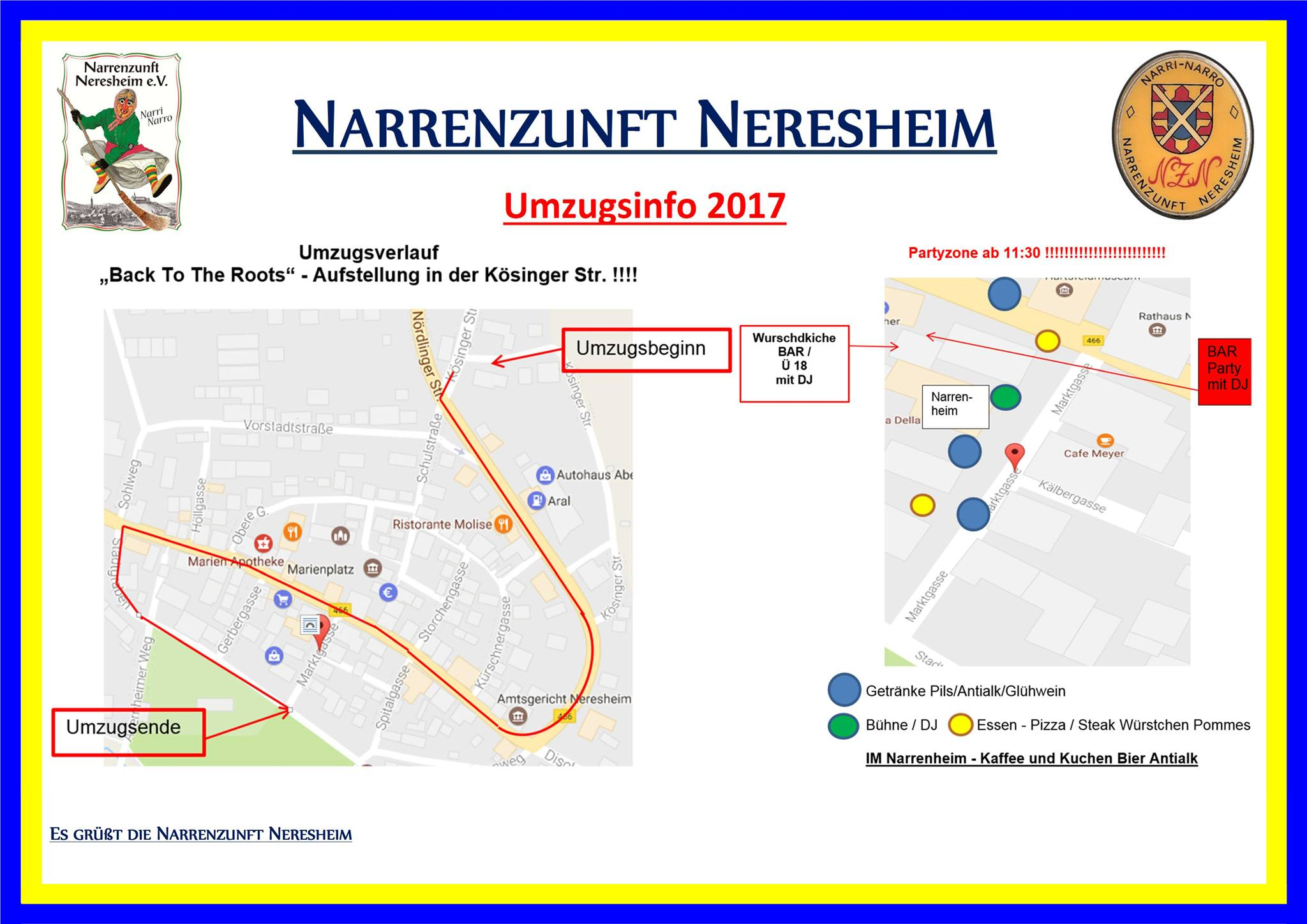 Großer Faschingsdienstag Umzug in Neresheim